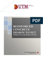 Formulae and Design Rules to Ec2