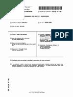 Patent Confiserie Aeree