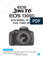 Eos Rebelt6 1300d Im Es