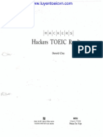 Hacker TOEIC Reading Part 1