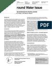 Ground Water Issue - DNAPL