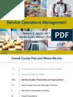 05 SOM 2017 Service Quality Metrics Part I 1X SV 2 Jul 17 Release