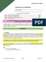Sujet-1 Diagnostic Entreprise FCD19