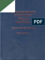 @ Engineering Geology Field Manual Vol-I