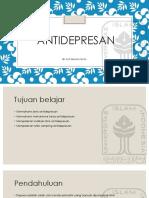 kuliah farmakologi antidepresan