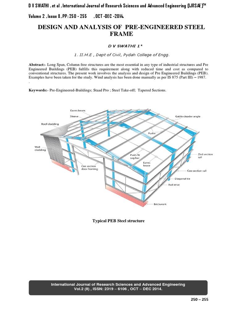Steel Frame Structure Design Pdf