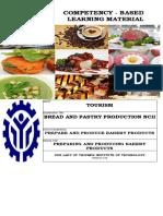 CBLM - BPP Prepare and Produce Bakery 1