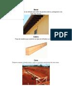 Vocabulario Tecnico arquitetura