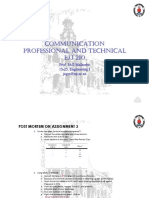 PROFESSIONAL AND TECHNICALCOMMUNICATION Lecture 5 PPT