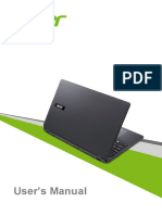 Manual Usuario Acer Extensa 2530