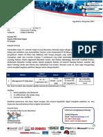 Surat Penawaran Pelatihan Management IT Help Desk