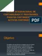 Norma Internacional de Contabilidad 37 Provisiones, Pasivos