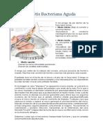 7.1. Rinosinusitis Bacteriana Aguda