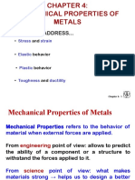 Chapter 4 Mechanical Properties of Metals