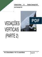 TC025 Vedações B x