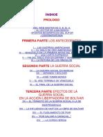 Bolivar y La Guerra Social Juan Bosch