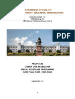 UGC SAP English Annual Report Final