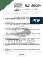 s01 v Professor Da Educacao Infantil e Do 1 a 5 Ano Do Ensino Fundamental FUNCAB
