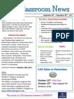 week 4 - kg2 newsletter