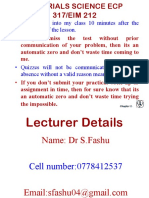 Chapter 1 Introduction to Materials Science
