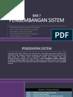 Bagian I Pendekatan Sistem