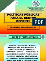 Politicas Publicas Del Deporte