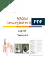 SOSC Lecture 9