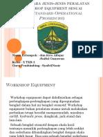 Memelihara jenis-jenis peralatan workshop equipment sesuai.ppt