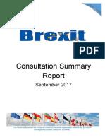 FCE Brexit Summary Report - September 2017 Scotland Fife