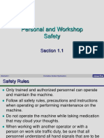 1.1 Machine Safety