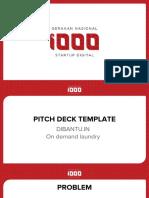 DIBANTU.in.Pitch Deck Template - 1000 Startup