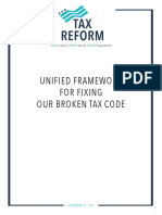 United Framework for Fixing Our Broken Tax Code