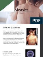 Measles (Case Presentation)
