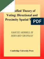 [III, Samuel Merrill, Bernard Grofman] a Unified T(BookSee.org)
