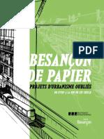 """Catalogue de l'exposition """"Besançon de Papier"""""""