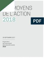PLFSS 2018 - Dossier de presse
