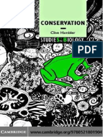 Clive Hambler-Conservation (Studies in Biology) (2004)