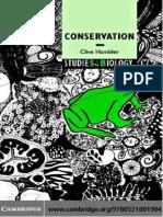 Clive Hambler-Conservation (Studies in Biology) (2004)