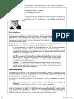 Principia » Imprimer » Les Programmes de Recherche de Lakatos