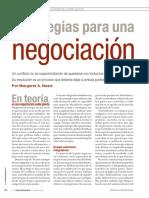 estrategias para una negociación
