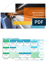 Arm Cortex Processors Public August 2017