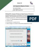 Anexo 14 Test de Evaluación Diagnóstico de Maquinas Virtuales