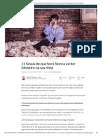 17 Sinais de que Você Nunca vai ter Dinheiro na sua Vida _ André Camargo _ Pulse _ LinkedIn.pdf