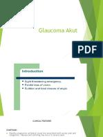 Glaucoma Akut