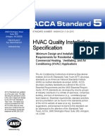 Hvac Quality Installation Specification