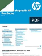 HP Mexico Portafolio Impresion Socios Marzo 2017 - 28 Febrero 2017