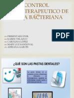 Control Quimioterapeutico de Placa Bacteriana