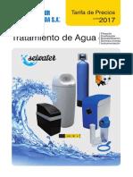 Tratamiento Agua Seiwater Tarifa Salvador Escoda