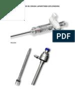 Instrumentos de Cirugía Laparotomía Exploradora