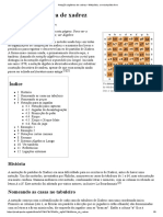 Notação Algébrica de Xadrez – Wikipédia, A Enciclopédia Livre